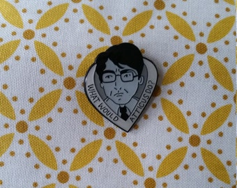 Atticus Enamel Pin 25mm