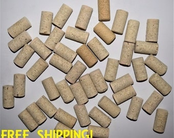100 Blank Wine Corks, Wine Cork, Wine Corks, Bulk Wine Corks, Used wine corks. Recycled Blank Wine Corks, Up-cycled Blank Corks