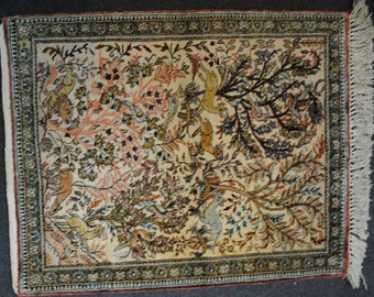 40% clearance rug Persian silk pieces made in the 1980s. DISCOUNT40 coupon code