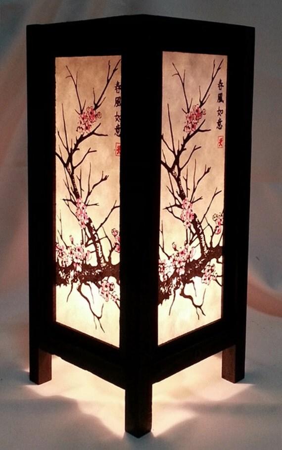Asian Table Lamp Home Decor Lighting Nightstand Lamp Bedroom