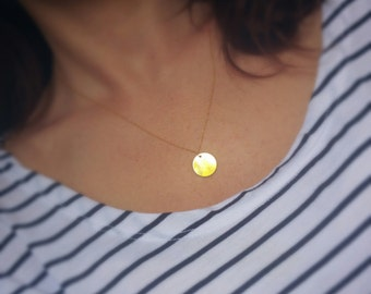 COIN gold filled necklace
