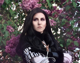 Lace Front wig  Yennefer cosplay