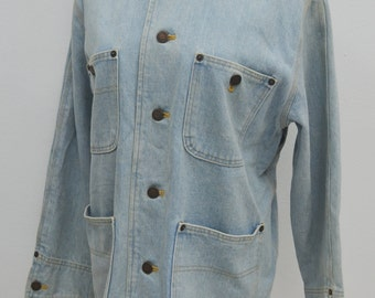 Ralph Lauren Jacket Vintage 90's Ralph Lauren Denim Jacket Size 9