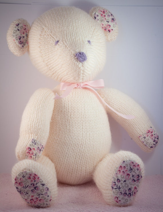 Theo the wooly teddy bear made out of your babygro or clothing
