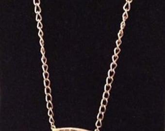 LISNER pendant necklace 1970's statement piece