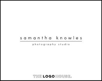 Minimalist Logo, Wedding Planner Logo, Simple Photographer Logo, Classy Logo Design, Hair Stylist Logo, Makeup Artist Logo, Flower Shop Logo