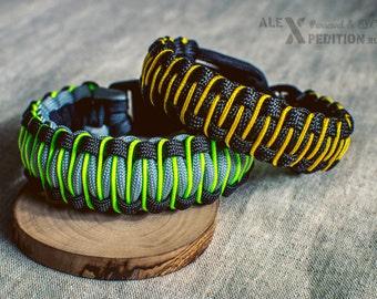 Stitched Cobra - Paracord bracelet