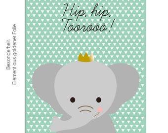Hip, hip, Töörööö! -Postcard