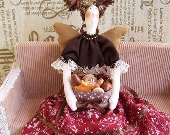 Handmade Tilda doll  Housewife