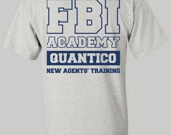 FBI Academy - Quantico shirt, FBI shirt