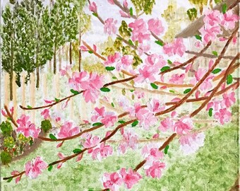 Oil Painting - Spring Arrival