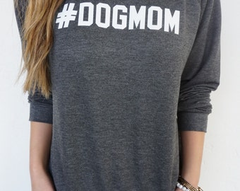 DOG MOM Crewneck