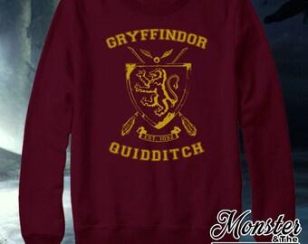 Gryffindor House Quidditch Sweatshirt