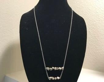 Pyrite Rocks Necklace