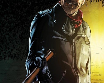The Walking Dead/Negan Art A3 Limited Edition Print
