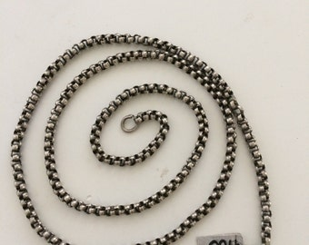 Antique Indian, silver chain