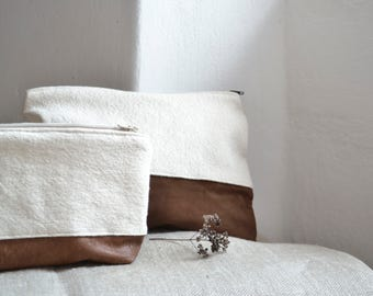 Big clutch - handmade -