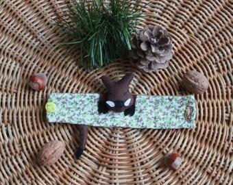 Bracelet cuff boar (Wild boar Cuff Bracelet)