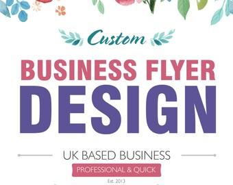 Business Flyer Design, Custom Flyer Design, Custom Leaflet Design, Designer Flyer, Retro Flyer, Restaurant Flyer, Leaflet, Poster Design