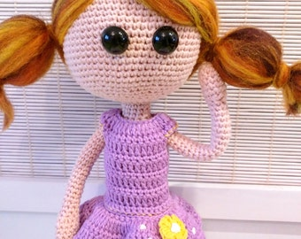 Doll crochet nugget / crochet doll