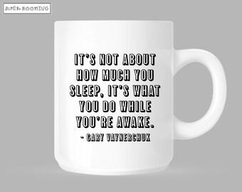 Gary Vaynerchuk Mug Cup Coffee Hustle Motivation Business Money Millionaire Cash Super Booming Tea Drink Entrepreneur