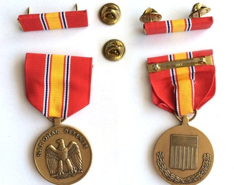 The National Defense Service Medal, USA