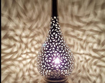 Handmade brass lamp