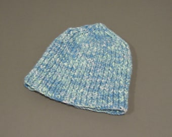 Baby blue knitted cap - LK101