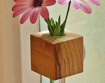 Window vase Tulpin flower vase flower vase