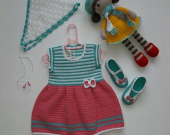 Set for girl 6-12 months