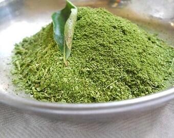 Ceylon Fresh Dried Curry Leaves Powder 100% Natural Organic -Free shipping