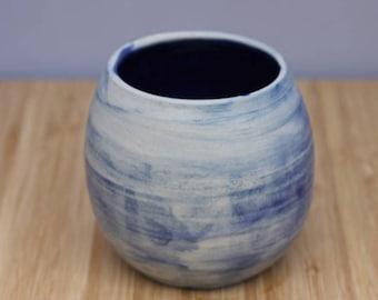 Blue wash Vase