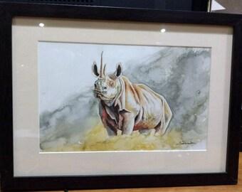 Rino Watercolor