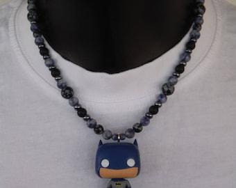 Batman necklace.
