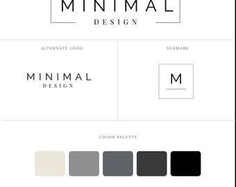 Branding Kit, Logo Design, Design Business, Premade Business Brand, Premade Logo, Minimalist Design, Business Logo, Watermark