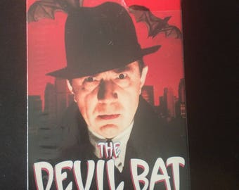 The Devil Bat VHS - Starring Bela Lugosi