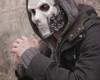 THE BARON (Resin Full-Face Skull Mask)