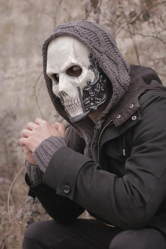 THE BARON Resin Full-Face Skull Mask