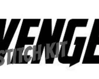 Avengers Logo Cross Stitch Kit