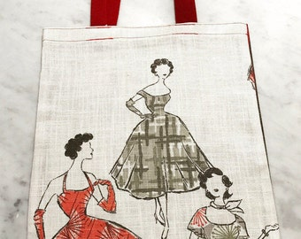 High society ladies tote bag!