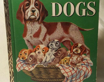 1952 The Little Golden Book of Dogs