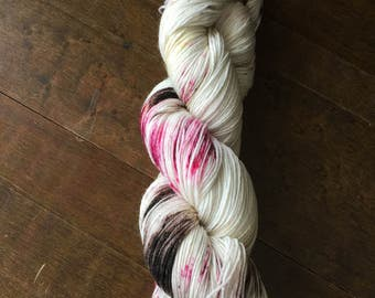 Berries and Brambles – Hand Dyed Sock Yarn 75/25 SW Merino/Nylon 463 yds
