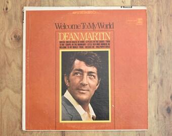 Dean Martin Welcome To My World 1967 Rare Vintage LP Vegas Rat Pack