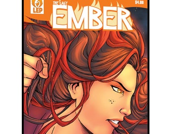The Last Ember - Issue #0 - PDF - DIGITAL COPY - Emberverse - Fire Goddess - Comic Book - Indie Comic - She's the last of her kind!