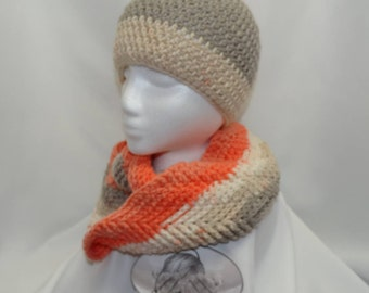 Women's cowl and beanie