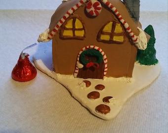 Polymer Clay Christmas House
