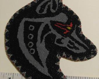 Wolf Head Medallion