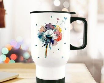 Thermo mug coffee flower TB70