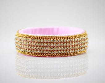 Rose Pink Stone Bracelet