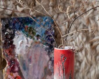 Nature plant vase